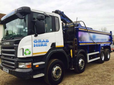 Grab Lorry Vehicle Fleet