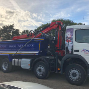 Active Grab Hire Truck