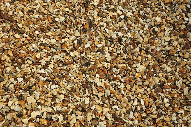 Flagstone Patio Diy Pea Gravel